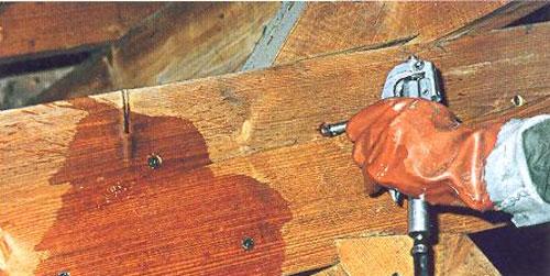 traitement bois de charpente par injection à Lyon